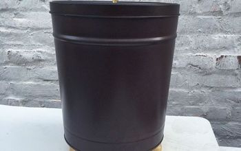 Turn a Popcorn Tin Into a Trash Can