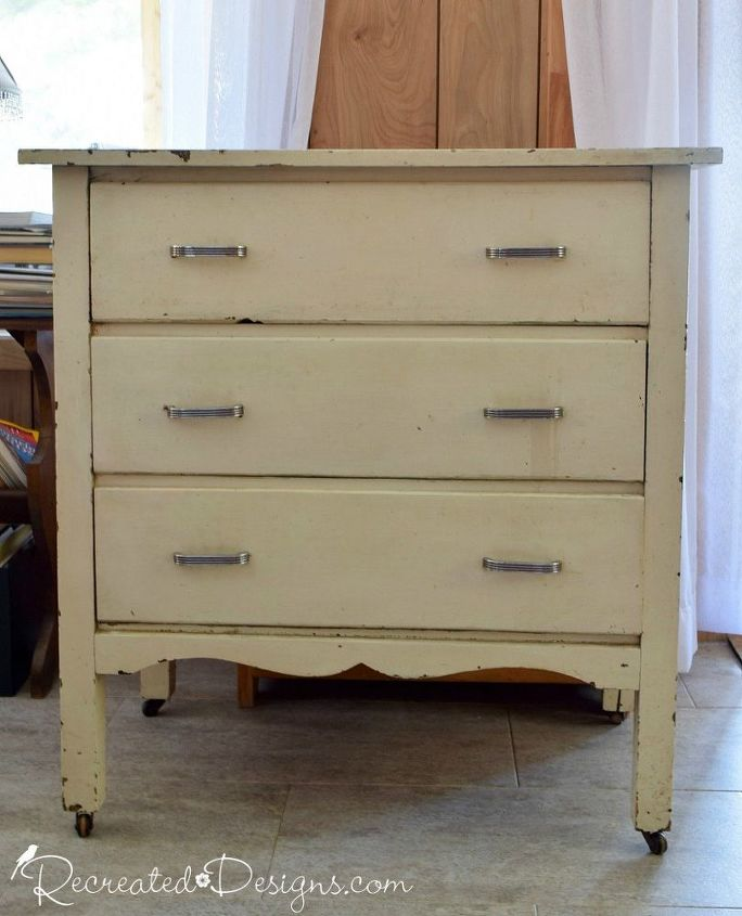 turning a vintage dresser into a tv stand, how to, painted furniture, repurposing upcycling