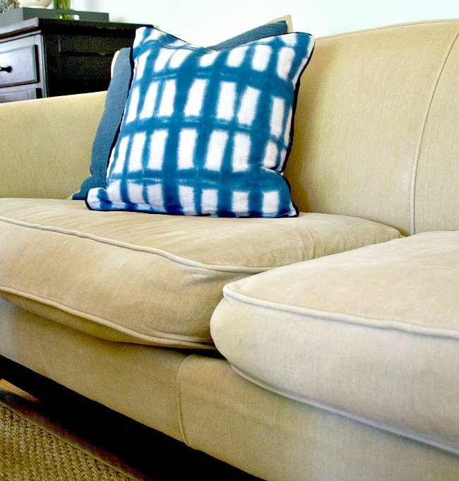 Quick and Easy Fix for Sagging Sofa Cushions | Hometalk