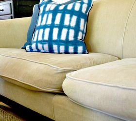 Quick And Easy Fix For Sagging Sofa Cushions, Reupholster