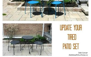 What Does Your Patio Set Say?  Tired or Fresh?