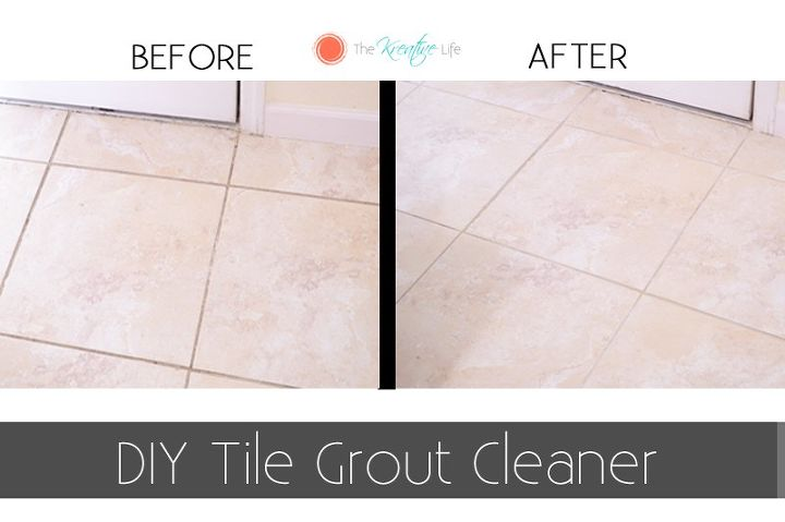 Diy Tile Grout Cleaner Hometalk