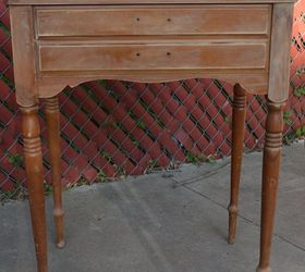 Old Sewing Table Turned Food Beverage Station, How To, Painted Furniture,  Repurpose Household
