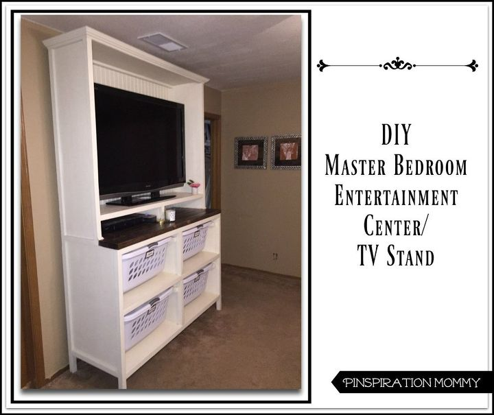 tv stands for bedroom. diy dual purpose bedroom entertainment center tv stand  ideas rec rooms DIY Dual Purpose Bedroom Entertainment Center TV Stand Hometalk