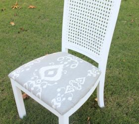 Diy Thrifted And Distressed Cane Chair Makeover, How To, Painted Furniture,  Reupholstoring,