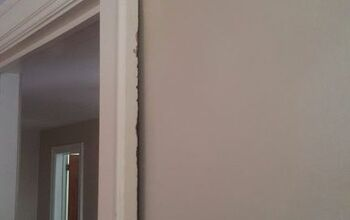 Hanging drywall in uneven spaces