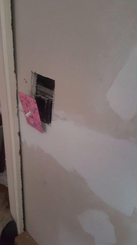 q hang drywall in uneven space, home maintenance repairs, minor home repair