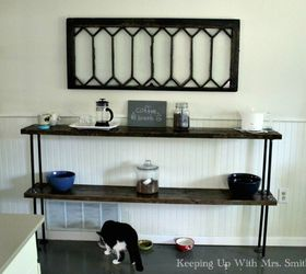 1 Hour Reclaimed Wood Plumbing Pipe Table, How To, Painted Furniture,  Rustic Furniture