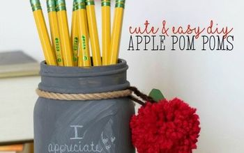 Apple Yarn Pom Poms