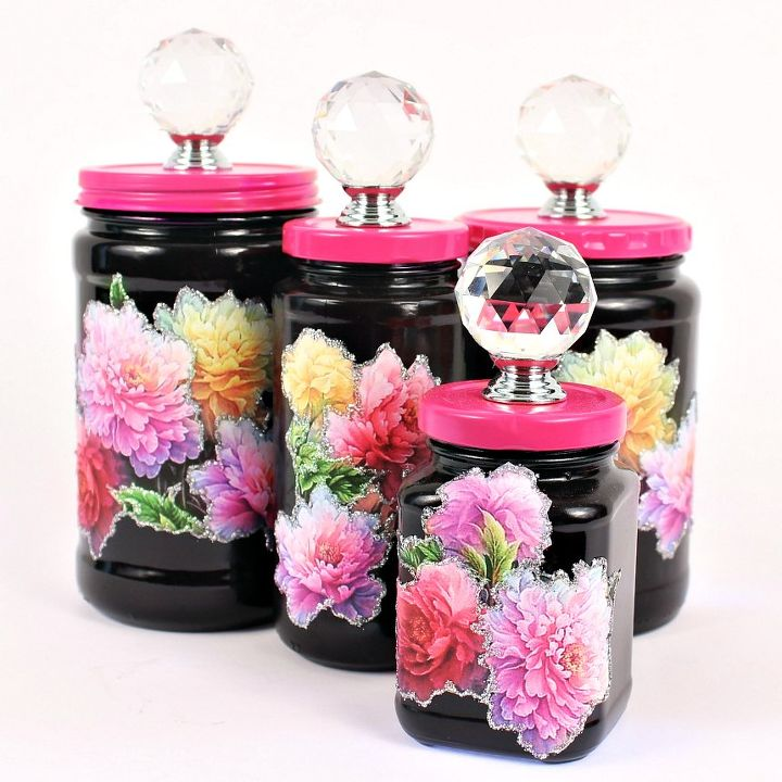 glass jar makeover, crafts, how to, repurposing upcycling