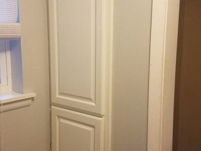 yes you can paint laminate , chalk paint, closet, how to, laundry rooms, painting