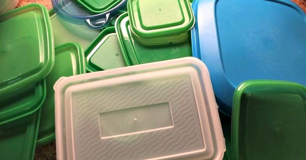 DIY Free Storage Solution for All Those Food Storage Container Lids