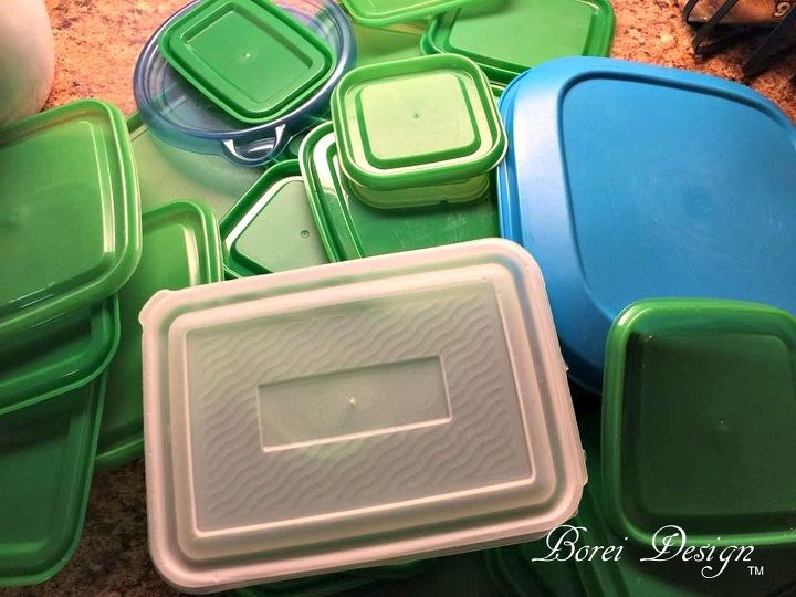 diy free storage solution for all those food storage container lids , crafts, how to, organizing, repurposing upcycling, storage ideas