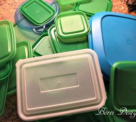 Diy Free Storage Solution For All Those Food Storage Container Lids ,  Crafts, How To