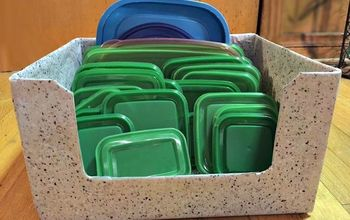 DIY Free Storage Solution for All Those Food Storage Container Lids!