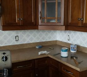 Don T Paint Ceramic Tile They Said , How To, Kitchen Backsplash, Painting,