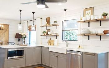 1970's Kitchen Gets a Modern Farmhouse Makeover!