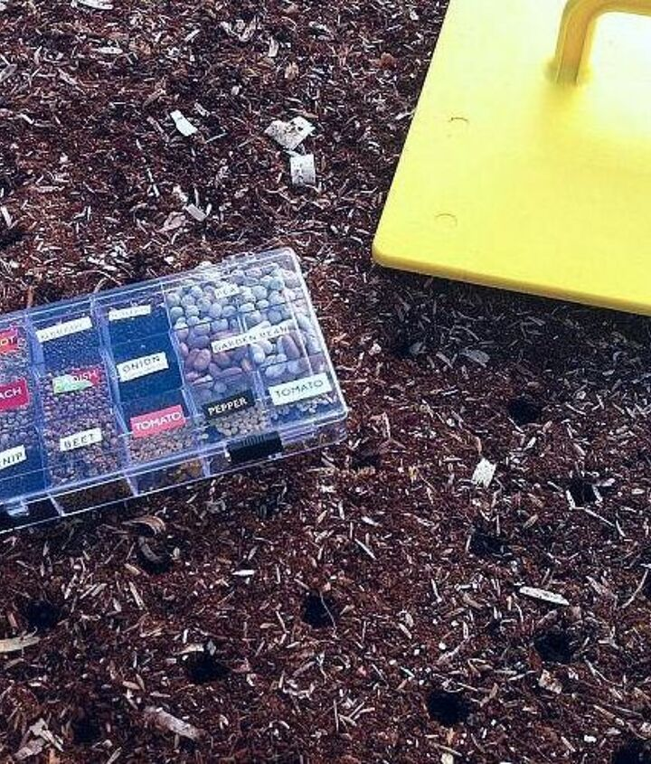 Choose your seeds. (See our previous post on how to create a convenient Bead Box Seed Library.)