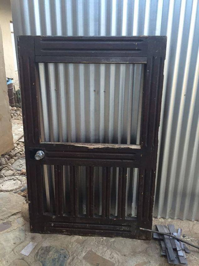 q chalkboard door, crafts, doors, repurposing upcycling