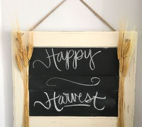 Turn a Cabinet Door Into a Hanging Sign | Hometalk
