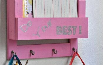 diy desk organizer and homework station, crafts, how to, organizing, painting