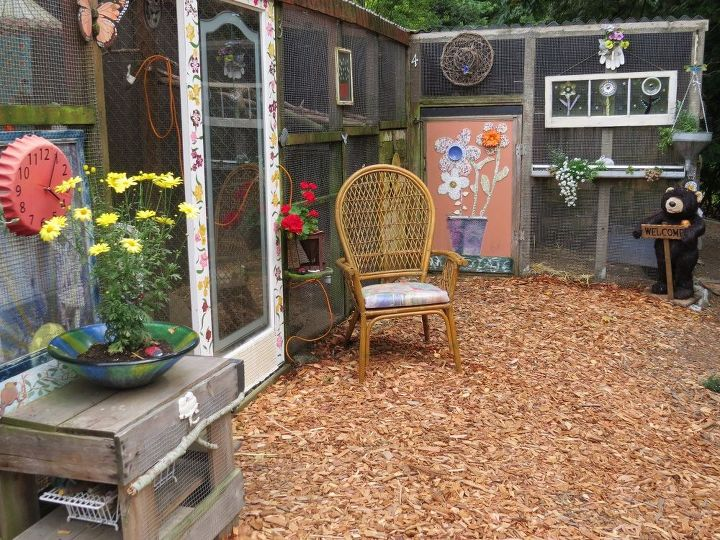 my outdoor craft rooms, animals, craft rooms, crafts, fireplaces mantels, landscape, outdoor living, pets, pets animals