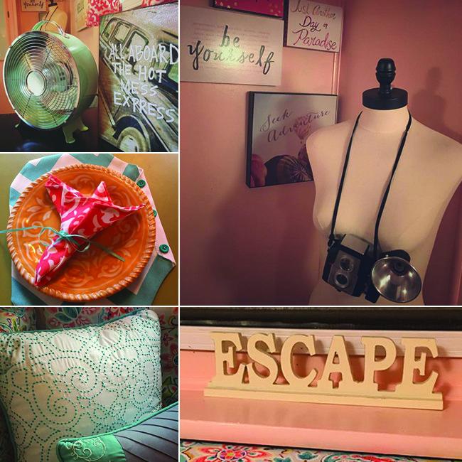 Some of Ellie's decor