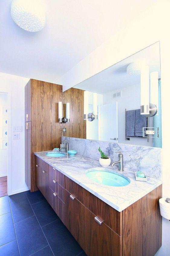 This Bathroom Got A Mid Century Modern Flip Hometalk
