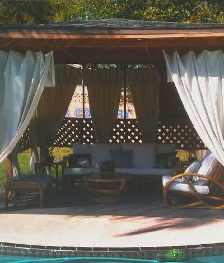 gazebo makeover, cleaning tips, container gardening, crafts, how to, outdoor living