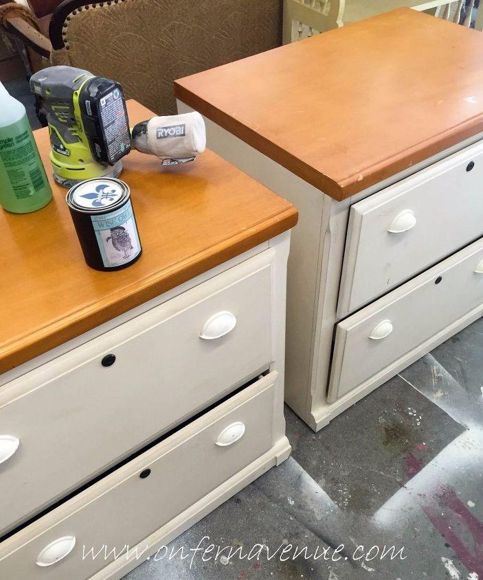 2 File Cabinets Barn Door Office Desk Doors Home How To
