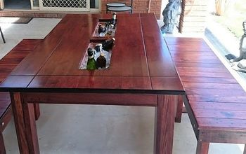 party trough table, crafts, how to, outdoor furniture, outdoor living, painted furniture, woodworking projects, Cooler trough table