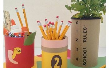 easy teacher gifts using tin cans, container gardening, crafts, how to, organizing, repurposing upcycling