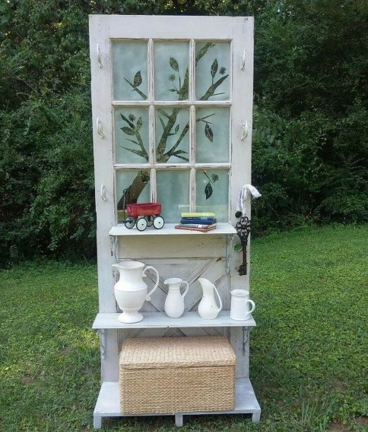 s 15 brilliant ways to upcycle old doors, doors, Turn it into an authentic book shelf