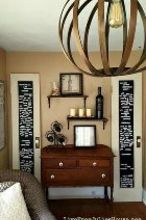 s 15 brilliant ways to upcycle old doors, doors, Hang it up as fun wall decor