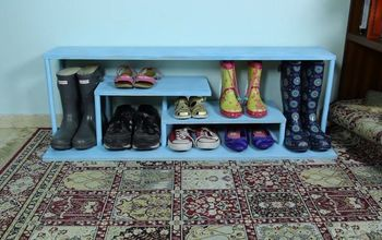Build a Stylish Shoe Rack