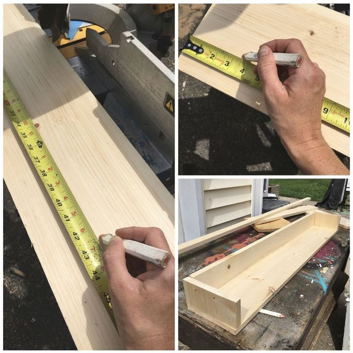 wooden cornice, how to, window treatments, windows, woodworking projects