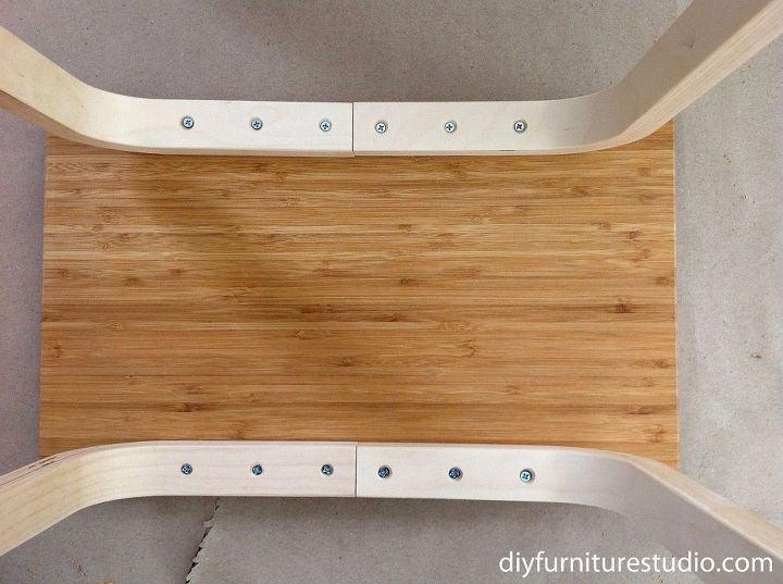 easy ikea hack side table frosta stool aptitlig chopping board, crafts, how to, repurposing upcycling