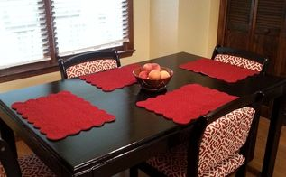 kitchen table makeover, how to, kitchen design, painted furniture, reupholstoring, reupholster