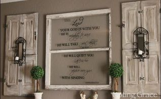 create a hand painted window sign, crafts, how to, repurposing upcycling, wall decor, windows
