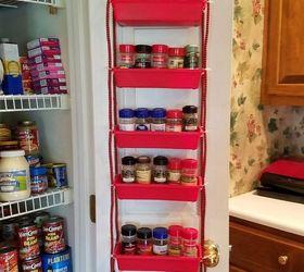 Pantry Door Spice Rack, Closet, Crafts, Doors, How To, Organizing,