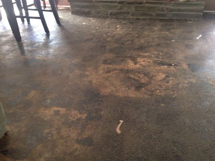 My Living Room Has A Concrete Floor Help Me With Cheap