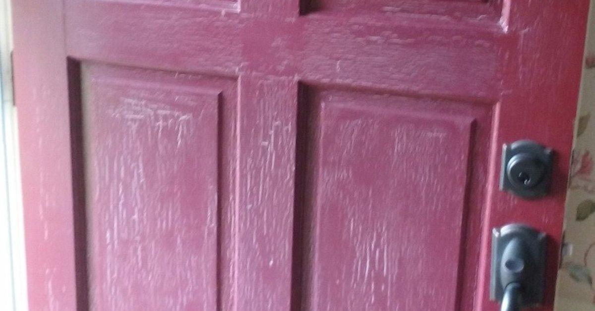Chalk paint on this front door? | Hometalk