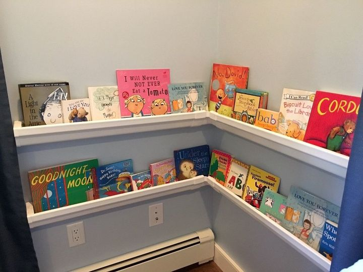 Rain Gutter Bookshelves Crafts How To Organizing Repurposing Upcycling Shelving Ideas