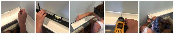 rain gutter bookshelves, crafts, how to, organizing, repurposing upcycling, shelving ideas