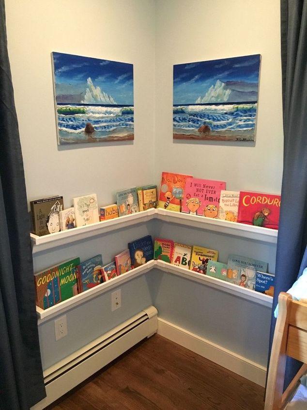 Turn Rain Gutters Into Bookshelves Hometalk