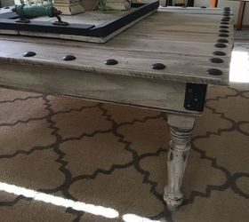 Great Coffee Table Made From Leftover Fence Boards, Fences, Painted Furniture