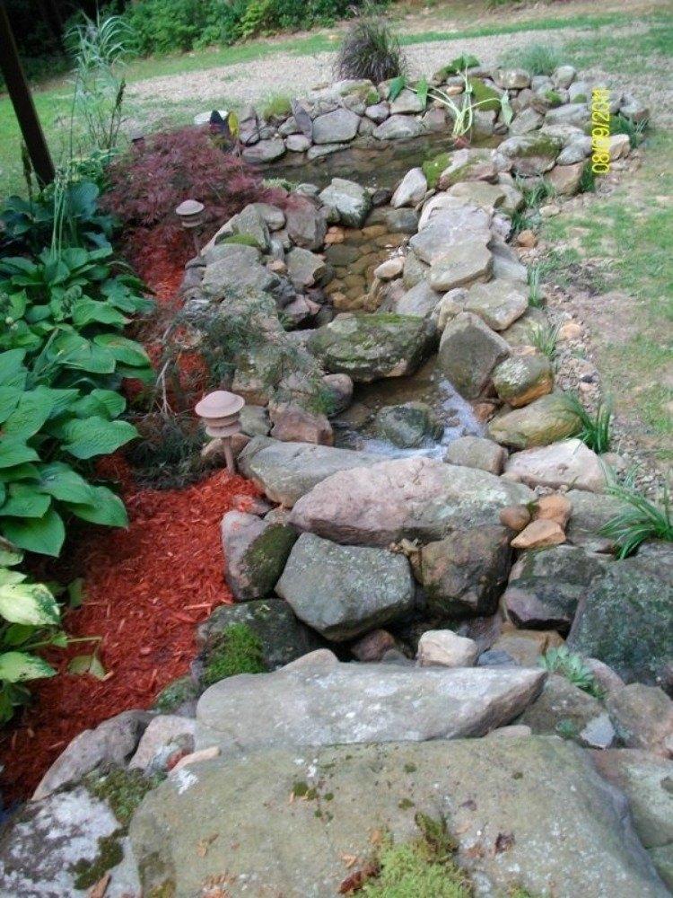 Or build a small koi pond