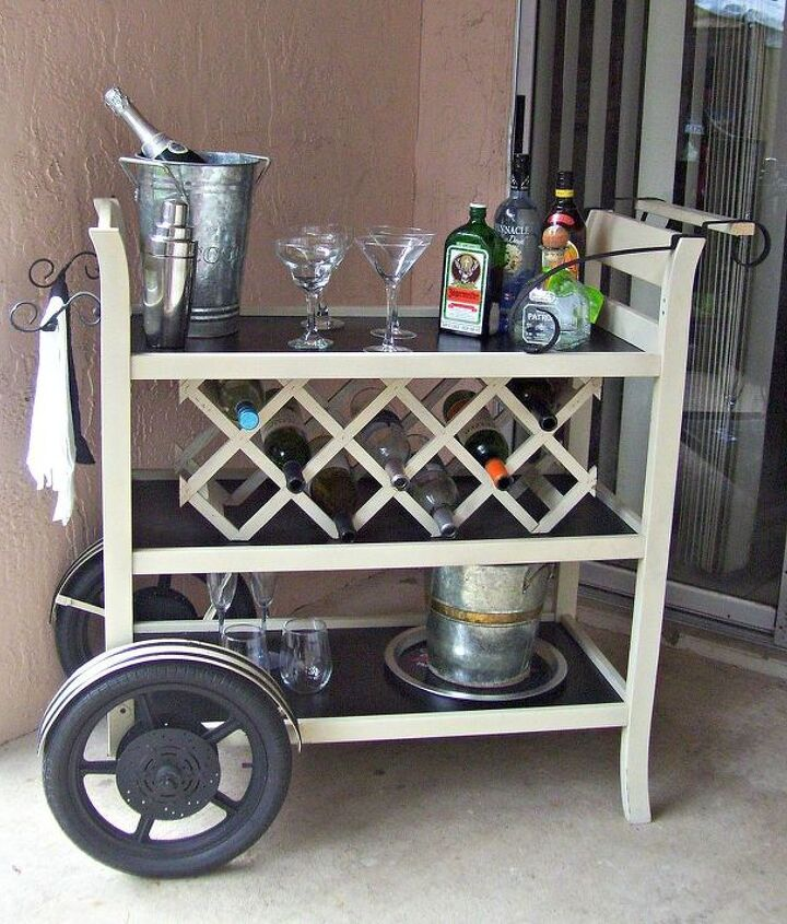 s here s why you shouldn t throw out your old changing table, painted furniture, repurposing upcycling, And is the perfect place for a wine rack