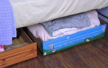Add Storage Drawers Under Your Bed