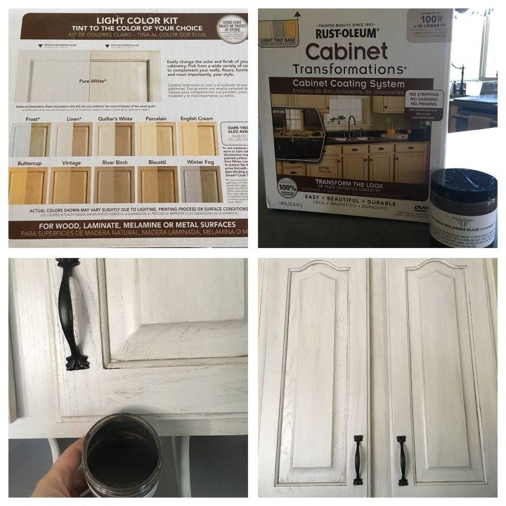 Oak Update-Painting Your Own Cabinets-